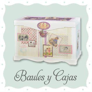 Baules, Cajas y Baldas