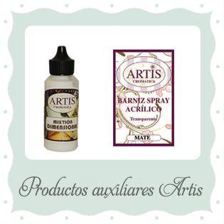 Productos auxiliares Artis Cromática