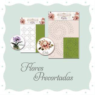 Flores precortadas Foamiran