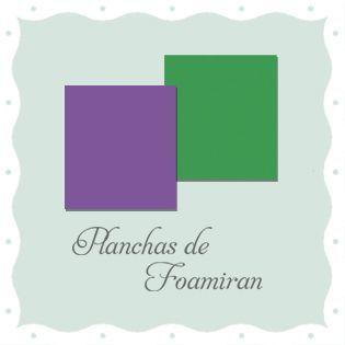 Planchas de Foamiran