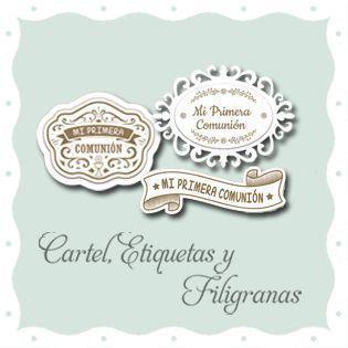 Cartel, Etiquetas y Filigranas